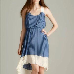 Jessica Simpson sz 12 Women's pleated dress blue